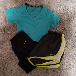 Bundle of 3 Nike Workout Clothes